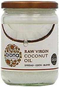 Pack of 1 : Biona Organic - Raw Virgin Coconut Oil - 400g by Biona