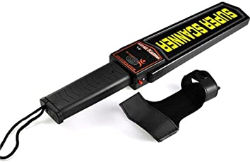 BESTOW Hand Held Security Metal Detector / HHMD Super Scanner with Alarm & Vibration