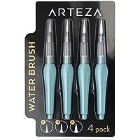 Pack de 4 pinceles de agua para acuarela Arteza - Puntas surtidas