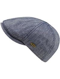 EveryHead Fiebig Ladies Flatcap Flat Cap Hat with Visor Peaked Summer Brand  Sports Mottled for Women ca5ba8fd529e