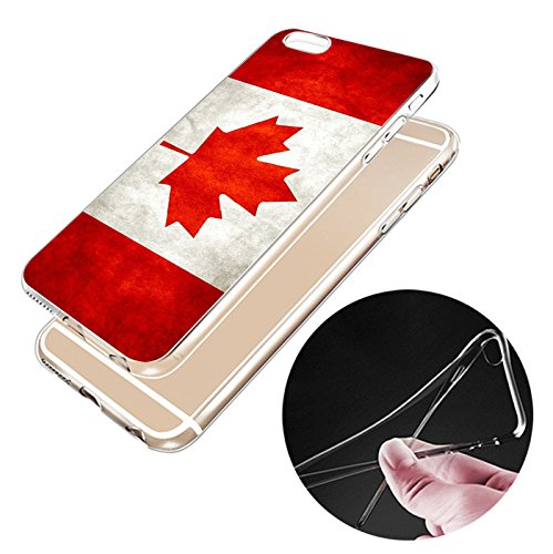 IPHONE 7plus Hülle USA Deutschland Fahne Muster Silikon TPU Schutzhülle Ultradünnen Case für iPhone 7/7plus gq4