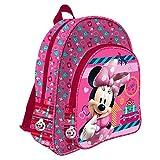 Minnie Mouse AS9707 - Mochila 2 cremalleras