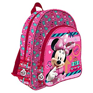 Disney Minnie Mouse AS017 / AS9707 - sac à dos pour enfants, 24 cm, multicolore