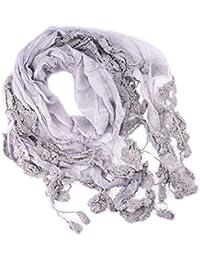 verschiedene Farben Damen Schal Tuch Häckeloptik