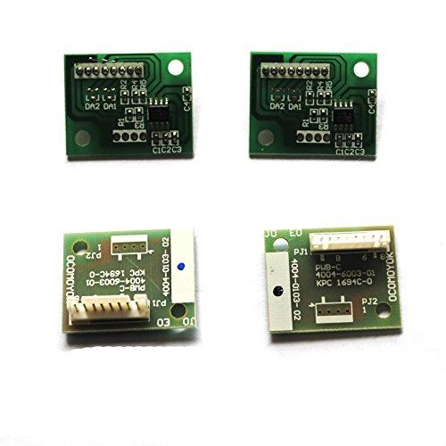 4 Stück-einheit (4Stück Drum Bild Einheit Reset Chip für Konica Minolta Bizhub C451C550C650CMYK)