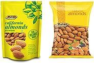 Tulsi California Almonds 500g + Tulsi California Almonds 1kg