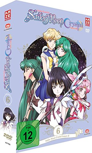 Sailor Moon Crystal - Vol. 6 - Episoden 34-39 [2 DVDs]