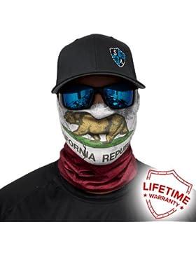 SA Company - Protezione facciale 40+  bandana passamontagna sciarpa -  Accessorio multiuso cc2f5f4b49a4