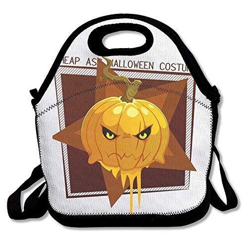 (Girls Boys Food Lunch Tote Cheap Ass Halloween Costume Pumpkin Food For Adults For Kids Picnic School Work Portable Reusable Handbag Bags Boxes Lunchbox Outdoor Totes)