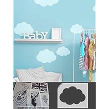 Cloud Pochoir, Home, Peinture Murale De Décoration, Chambre Du0027enfant Thème  Ciel