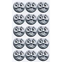 Thomas the Tank Engine Face PARTY STICKERS A4 Sheet of 15 x 50mm Round Party Bag Stickers