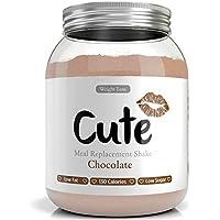 Frullati/Shakes Proteici Dimagranti - Sostitutivi del Pasto Sapore Cioccolato - Dieta per Dimagrire e Tenersi in Forma - Bevande Iperproteici e Ipocalorici - in Omaggio Guida per Perdere Peso