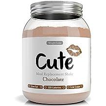 Batido Sabor Chocolate - Sustitutivo de Comida - Dieta Quema Grasas para Adelgazar y Pérdida de