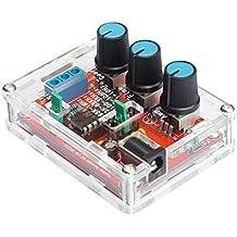 KKmoon Funzione XR2206 alta precisione Signal Generator fai da te Kit Sine / triangolo / uscita Piazza 1Hz-1MHz a frequenza variabile Ampiezza
