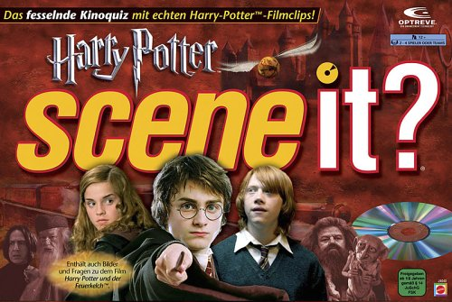 Mattel - Scene it ? Harry Potter - Kinoquiz mit DVD (Geistige Dvd)