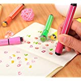 RIANZ Imported High Quality Drawing Sketch Pens With Stamps/Seal On Pen (Pack Of 12)