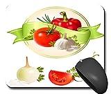 Mauspads Mouspad Mausunterlage Comic Tomate Abendessen Gesund schönes Design schick NEU 100MPN2176