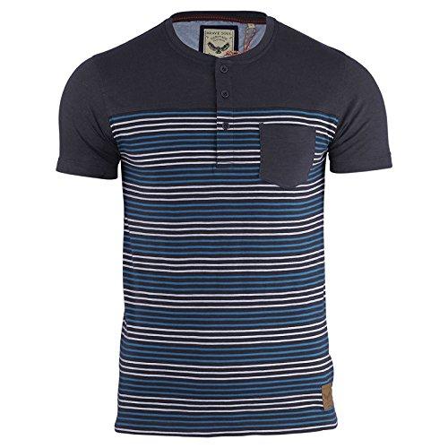 Brave Soul -  T-shirt - Maniche corte  - Uomo Navy | Powder Blue