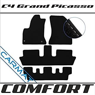 Citroen C4 Grand Picasso I 2006 - 2013 Fussmatten Autoteppiche COMFORT