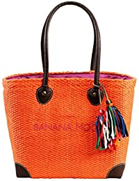 Sac de plage Banana Moon Aniston Lemnos Orange Safran