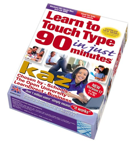 KAZ - Learn To Touch Type in 90mins v17 Test