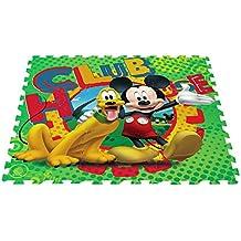 5e2786b07c5 ColorBaby - Alfombra Puzzle goma EVA de MICKEY MOUSE - 9 piezas - 90x90 cm (