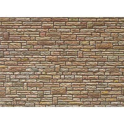 """faller mauerplatten FALLER 170604 - Mauerplatte """"Sandstein"""", grün-gelb-braun"""