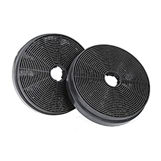 Filtro de Carbón CBCF003 Activado Repuesto para Campanas Extractoras Decorativa de Cocina (Paquete de 2 Unidades)