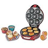 Ariete 188Muffin Cupcake Party Time Maschine für Muffins und Cupcakes Leistung 700Watt Farbe Rot
