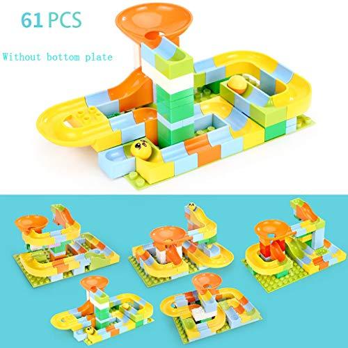 Kinder pädagogische Bausteine   Spielzeug große Partikel kreative DIY Trackball Szenen Bann Einfügen von Blöcken Modellierung veränderbare Spielzeug Farbe Box Set (Farbe : A, größe : S(22.5 * 16CM)) - Große Trackball