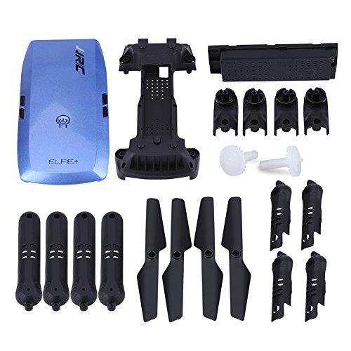 RC Drone Ersatzteile Set, Propellerblätter Props Combo Zubehör für JJRC H47 Quadcopter(Blau)