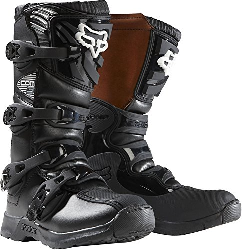 Fox Kids Motocross-Stiefel Comp 3Y Schwarz Gr. 36