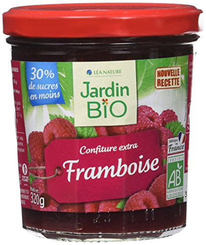 Jardin Bio Confiture Extra Framboise 320 g - Lot de 3