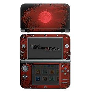 DeinDesign Skin kompatibel mit Nintendo New 3DS XL Aufkleber Sticker Folie Moon Mond Vollmond