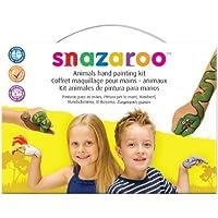 Snazaroo Unisex Animals Hand Paint