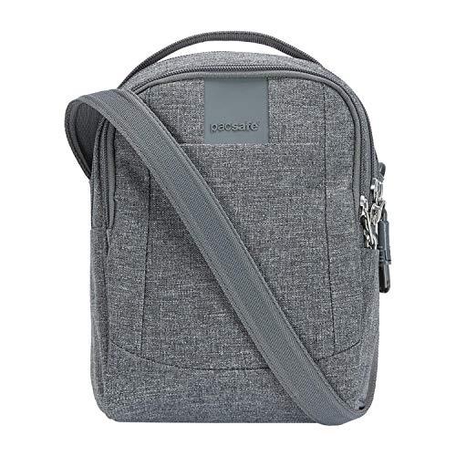 Pacsafe Metrosafe LS100 Anti-Diebstahl kleine Nylon Umhängetasche für Damen, Schultertasche mit Diebstahlschutz, Tasche mit Sicherheits-F...