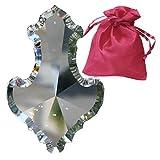 SWAROVSKI STRASS Kristall Anhänger L. 89mm mit Geschenk-Beutel als Muttertagsgeschenk Kronleuchter-Behang Fensterdeko Feng Shui Sonnenfänger und Wohn-Accessoires