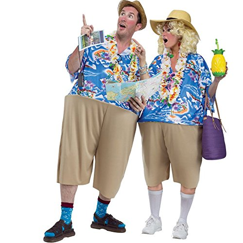 Urlauber Kostüm - Witziges Urlauber Kostüm für Erwachsene