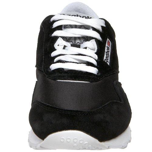 Reebok Classic Nylon, Baskets Basses Femme Noir (Black/White)