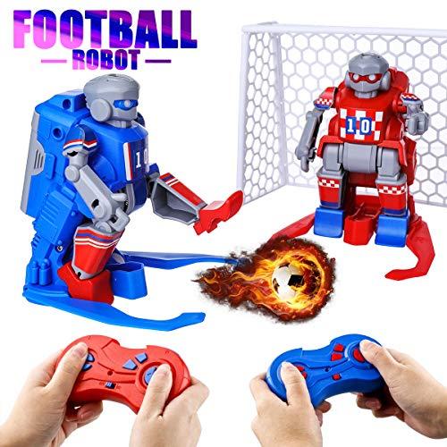 EACHINE ER10 Ferngesteuerte Roboter für Kinder,RC Roboter Spielzeug, 2,4 GHz Doppelfernsteuerung,2 Fußballroboter Multiplayerspiel,RC Spielzeug Kindergeburtstag Geschenk