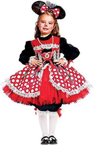 Carnevale Venizano CAV50559-L - Kinderkostüm TOPINA Prestige - Alter: 7-10 Jahre - Größe: L (Sieben Neun Kostüm Verkauf)