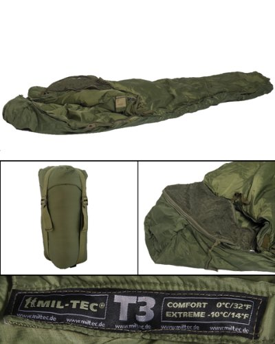 Schlafsack Tactical 3 oliv