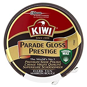 Kiwi Parade Glanz Prestige Schuhcreme – Dunkelbraun (50 Ml)