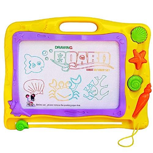 Multi-positionierung Stander (DMMW Zeichenbrett für Kinder Multi-Stampers-buntes magnetisches Reißbrett, löschbares Schreiben, das Auflagen-Magnet-Gekritzel für Kinder zeichnet Spaß pädagogisches Lernen)