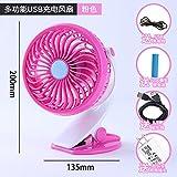 WANGZHENZHEN Mini Ventilator mit kleinen Wind Lüfter kann mit tragbaren und ruhigen natürlichen Wind erhoben.