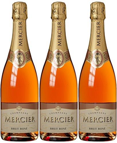 Mercier Brut Rosé Champagner (3 x 0.75 l)