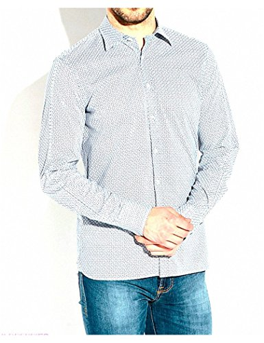 Guess by Marciano - Chemise Guess by Marciano Bt Bleu