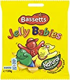 Bassetts Jelly Babies 130 g (Pack of 12)