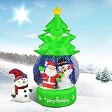 Aufblasbare aufblasbare leediooâ â Das à ¡Weihnachtsbaum Weihnachten Schnee Gas Spray Santa Dekoration Weihnachten Szene Hotel