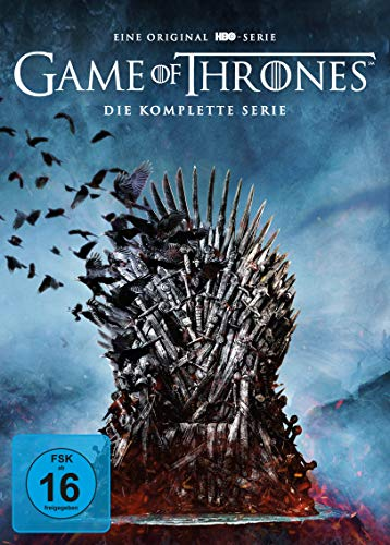 Game of Thrones: Die komplette Serie (Staffel 1-8 im Digipack) [35 DVDs]